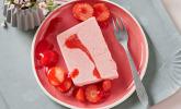 Erdbeer-Parfait mit Fruchtmark