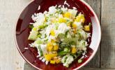 Italienischer Reis-Melonen-Salat