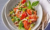 Illes leichter und leckerer Thunfisch-Tomaten-Salat