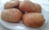 Vegane Vollkorn-Hamburger-Buns