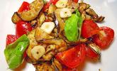Auberginen-Tomaten-Salat