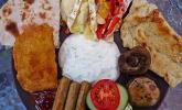 Fruchtiges Camembert-Gemüse