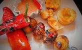 Gefüllte Paprikaschoten vom Grill