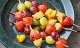 Obst-Grillspieße