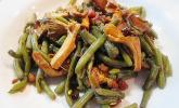 Grüne-Bohnen-Pfifferling-Salat