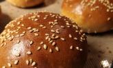 Hamburger und Hot Dog Buns
