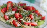 Marinierter Spargel-Erdbeer-Salat