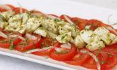 Mozzarella-Tomaten-Salat mit Pesto