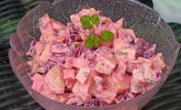 Roter Kartoffelsalat