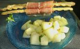 Scharfe Melone