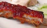 Spareribs mit amerikanischer BBQ-Sauce