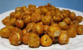 Würziger Kichererbsen-Snack (low carb und vegan)