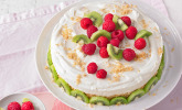 Frischkäse-Kiwi-Torte