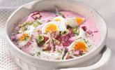 Litauische Rote-Bete-Suppe (kalt)