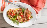 Red Snapper mit Tomaten-Avocado-Salsa