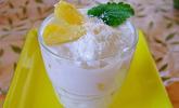 Ananas-Quark-Dessert mit Rum