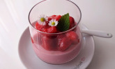 Erdbeer-Buttermilch-Gelee