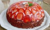 Erdbeerjoghurt-Kuppeltorte