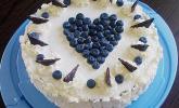 Heidelbeer-Joghurt-Topfen-Torte