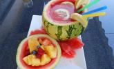 Melone mit Wodka