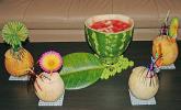 Melonen-Bowle
