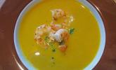 Möhren-Linsen Suppe auf karibische Art