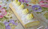 Zitronenbiskuitrolle