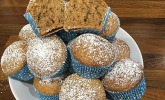Zucchini-Muffins mit saurer Sahne