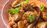 Indien: Curry mit Rindfleisch oder Lamm