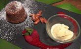 Nachspeise: »Death by Chocolate« an heißer und kalter Mandel