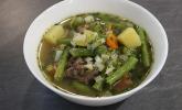 Gesunder Gemüseeintopf mit Rindfleisch