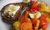 Griechisches Kräuterschnitzel mit Fetakäse