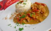 Ghana: Hähnchen mit Reis