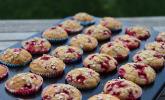 Haferflocken-Johannisbeer-Muffins