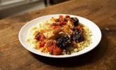 Marokko: Huhn mit Backpflaumen, Honig und Zimt