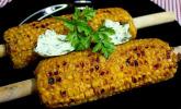 Maiskolben vom Grill