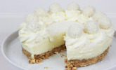 No Bake Raffaello-Cheesecake