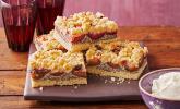 Zwetschgenkuchen mit Mohnquark und Butterstreuseln