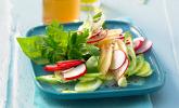 Radieschen-Salat mit Apfel