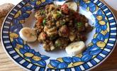 Bananen-Linsen-Salat