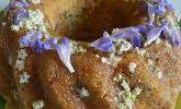 Blütenkuchen von Wildkräutern