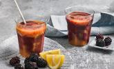 Brombeer-Papaya-Smoothie