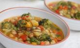 Marrokanischer Gemüsetopf mit Kichererbsen