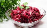 Sauerkraut-Salat mit Rote Bete / Rote Rüben