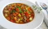Serbische Kartoffelsuppe