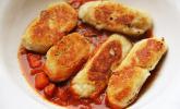 Spanische Ziegenkäse-Kroketten mit Tomatensalsa