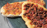 Vegane türkische Pizza – Sebzeli lahmacun
