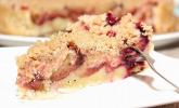 Veganer Zwetschgenkuchen mit Zimtstreuseln