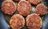 Vegetarische Burger aus Kidneybohnen