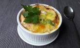 Zwiebelsuppe, französische Artmertopf